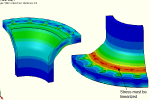 Pressure Analysis of a Flange