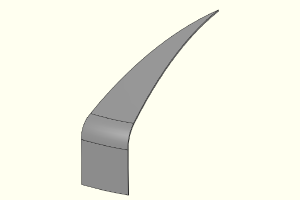 FEA model of F&D Head