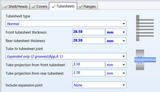 Figure 11 – Exchanger Tubesheets